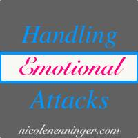 Handling Emotional Attacks