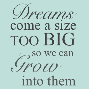 Do You Dream Big?