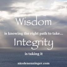 Bringing Back Integrity