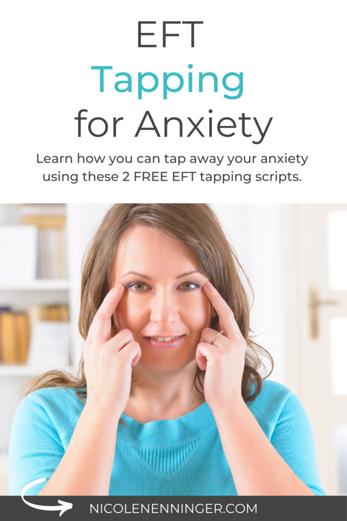 EFT tapping script for anxiety